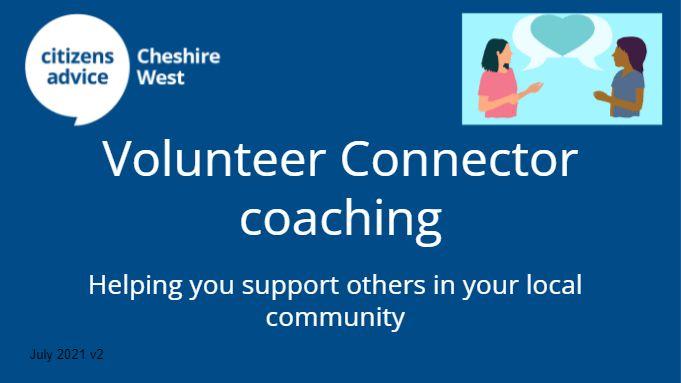 Volunteer Connector coaching